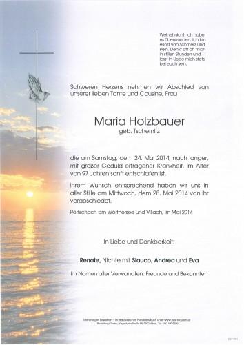 Maria Holzbauer