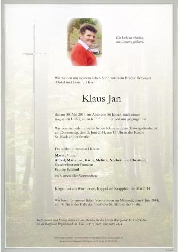 Klaus Jan