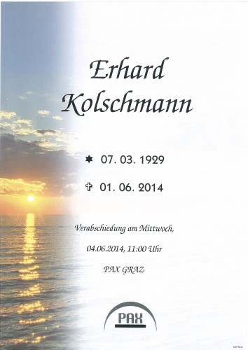 Erhard Kolschmann