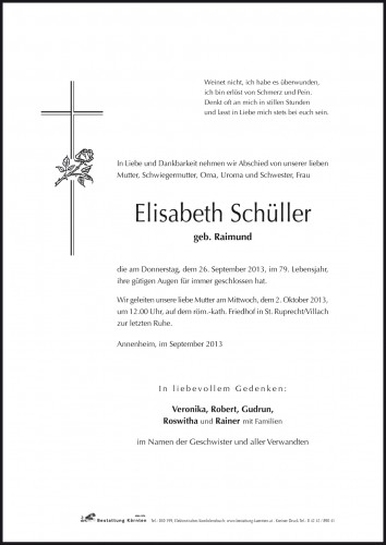 Elisabeth Schüller