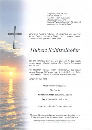 Hubert Schitzelhofer