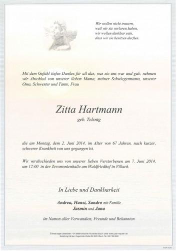Zitta Hartmann
