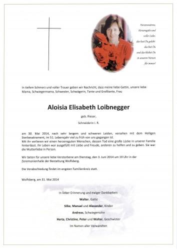 Aloisia Loibnegger