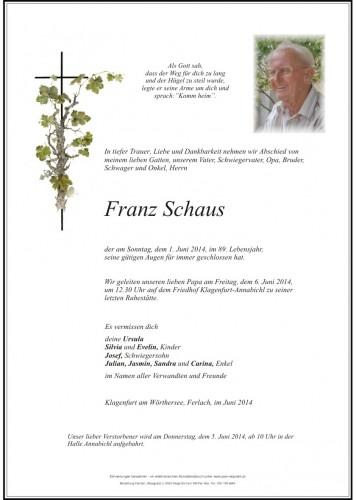 Franz Schaus