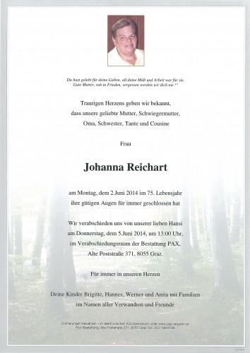 Johanna Reichart