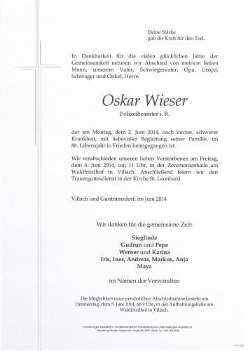 Oskar Wieser