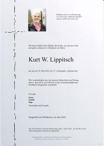 Kurt W. Lippitsch