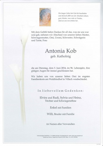 Antonia Kob