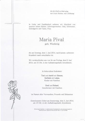 Maria Pival