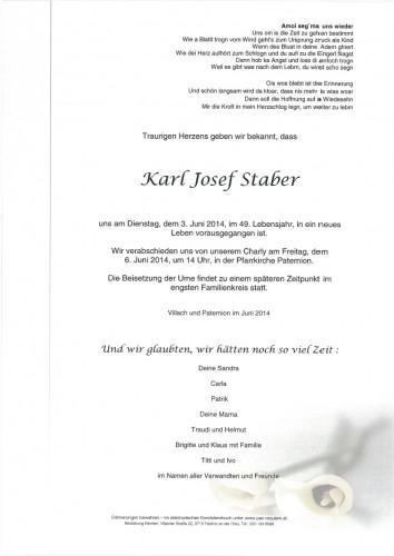 Karl Staber