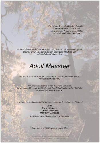 Adolf Messner