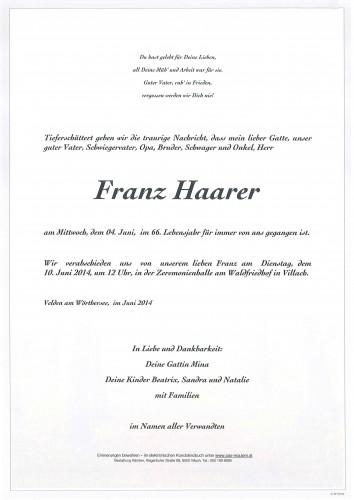 Franz Haarer