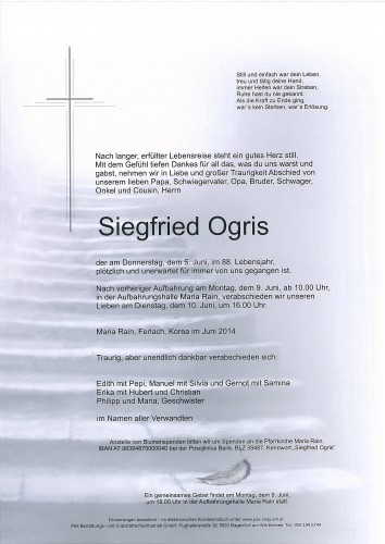 Siegfried Ogris