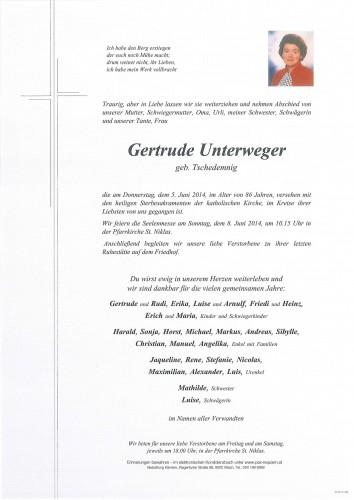 Gertrud Unterweger