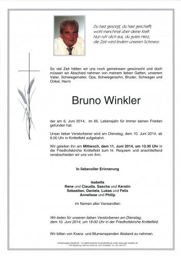 Bruno Winkler