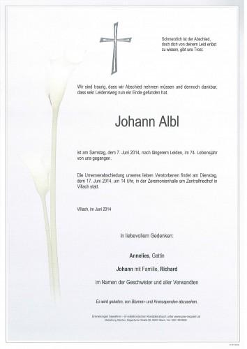 Johann Albl