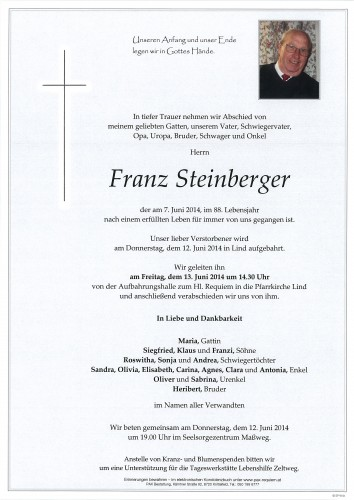 Franz Steinberger