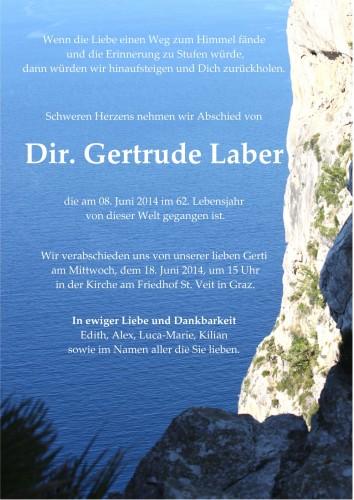 Dir. Gertrude Laber