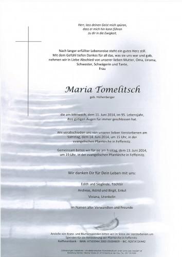 Maria Tomelitsch