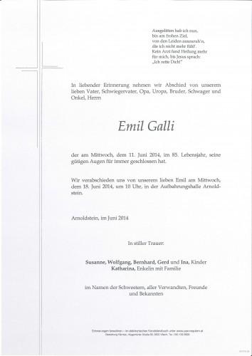 Emil Galli