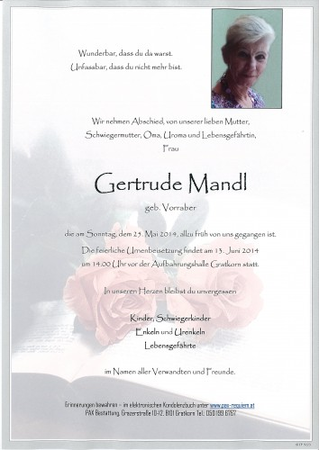 Gertrude Mandl