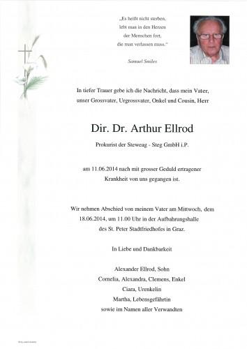 Dir. Dr. Arthur Ellrod
