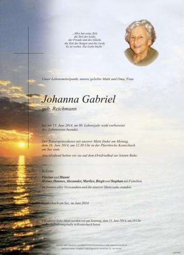 Johanna Gabriel