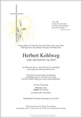 Herbert Kohlweg