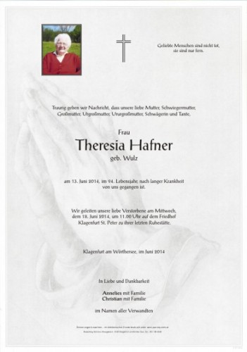 Theresia Hafner