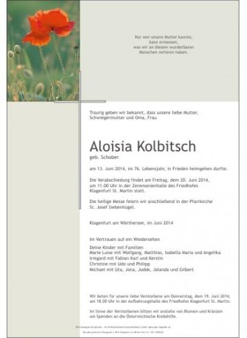 Aloisia Kolbitsch