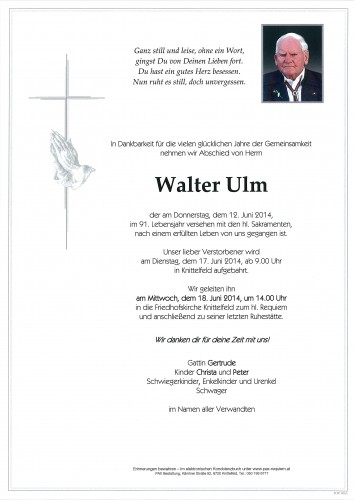Walter Ulm