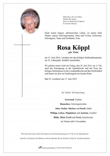 Rosa Köppl
