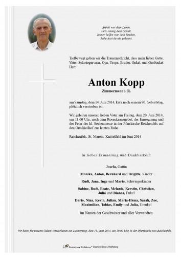 Anton Kopp