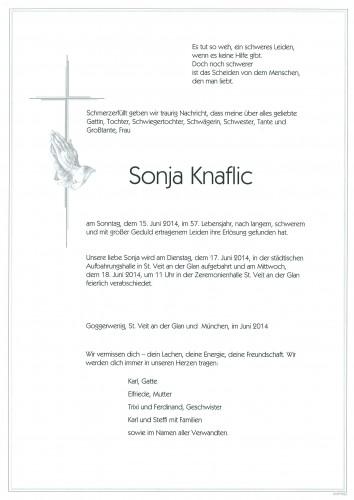 Sonja Knaflic