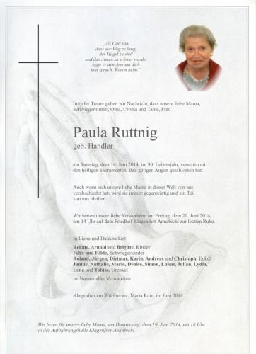 Paula Ruttnig