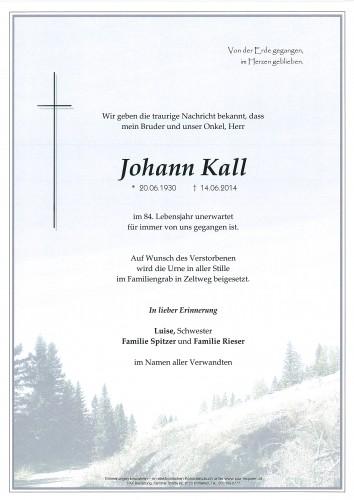 Johann Kall