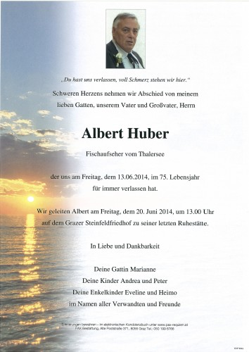 Albert Huber