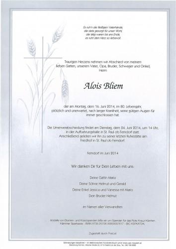 Alois Bliem