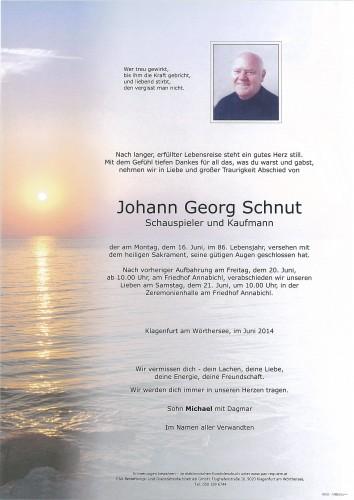 Johann Georg Schnut