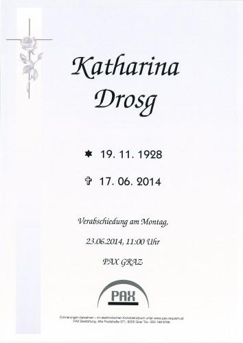 Katharina Drosg