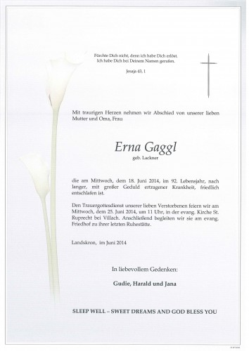 Erna Gaggl