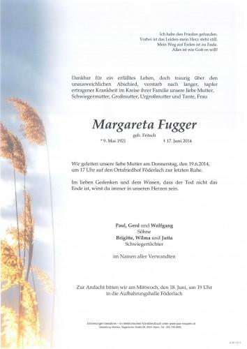 Margareta Fugger
