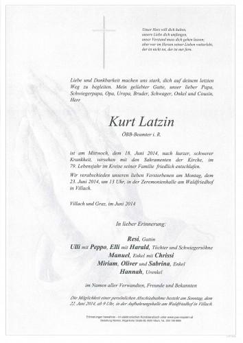 Kurt Latzin