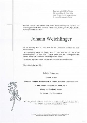 Johann Weichlinger