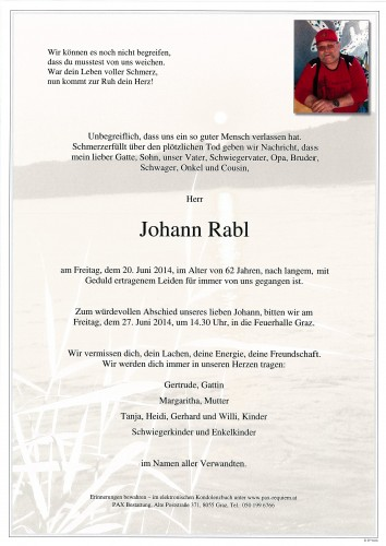Johann Rabl