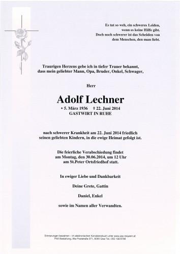 Adolf Lechner