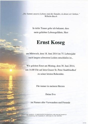 Ernst Koseg