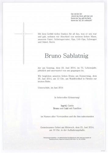 Bruno Sablatnig