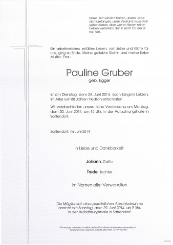 Pauline Gruber