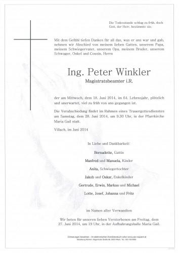 Peter Winkler Ing.